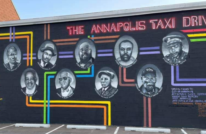 Annapolis Taxi Drivers Mural By Future History Now