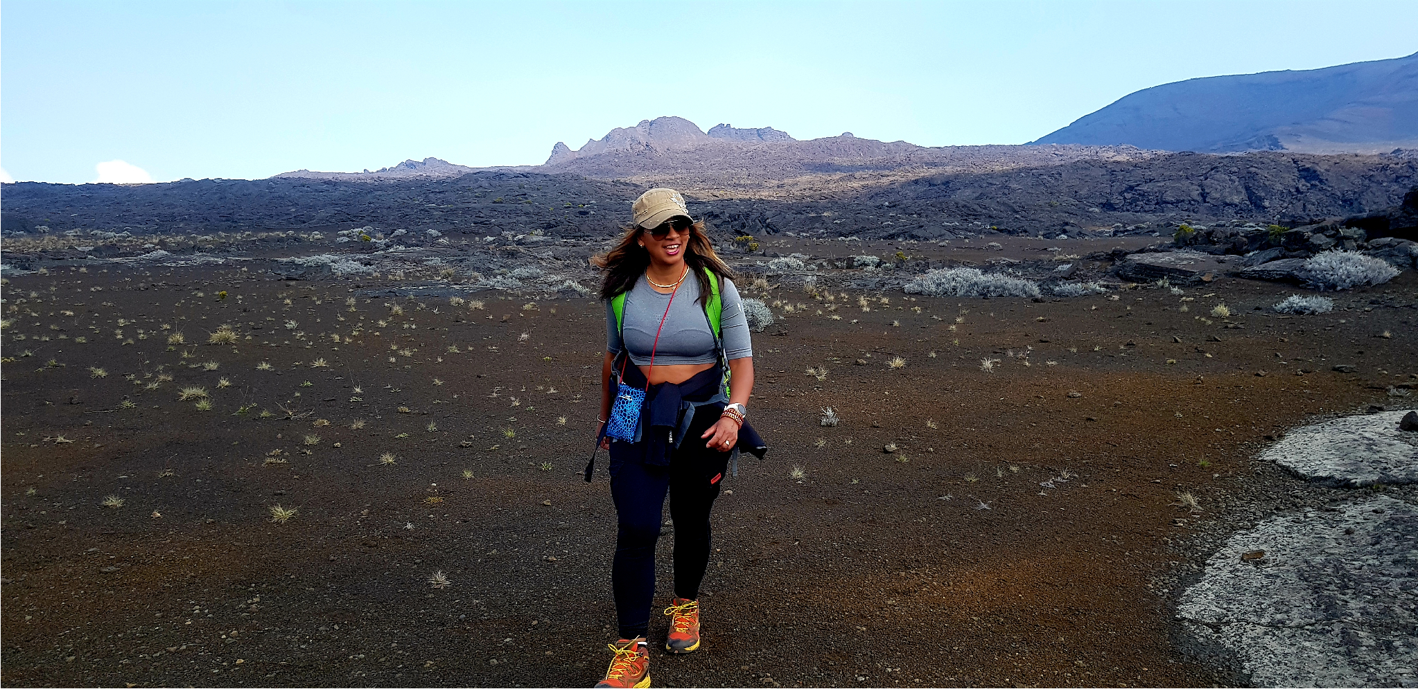 The whole Volcano site around Piton de la Fournaise is surreal, very out of this world kind of scenery.