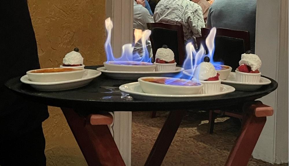 Flambeed Créme Bruleé