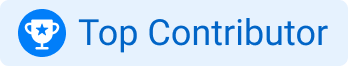 top_contributor badge