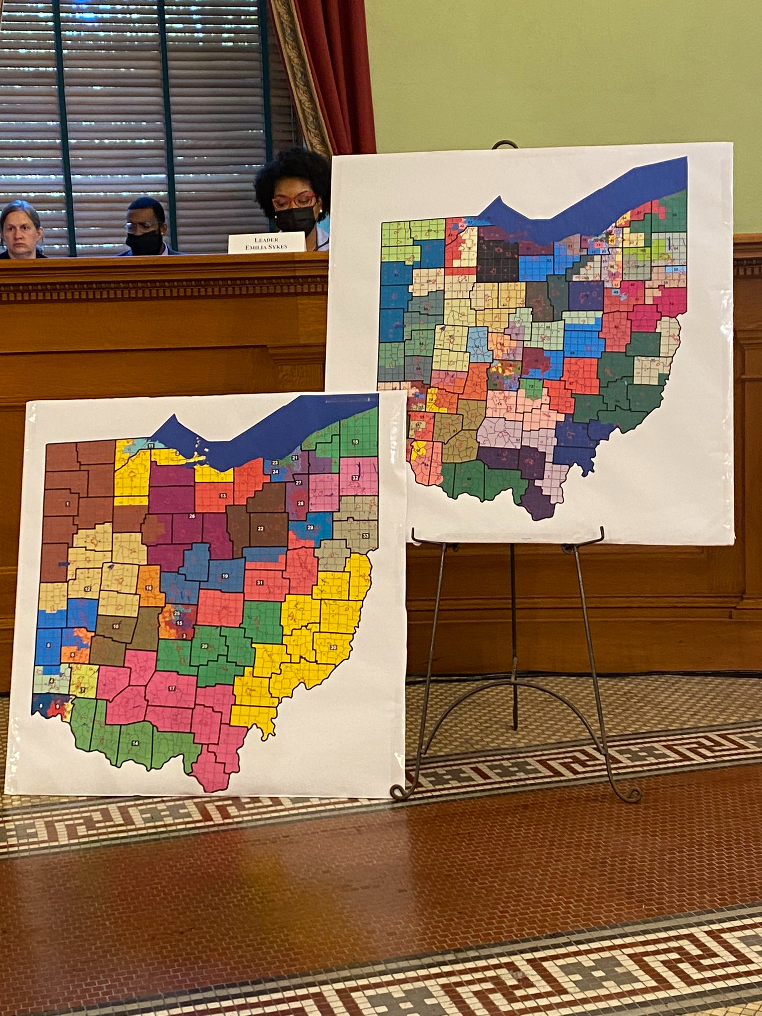 The proposals ensure Ohio GOP members can hold on to 67 of 99 House seats and 25 of 33 chairs in the Ohio Senate.